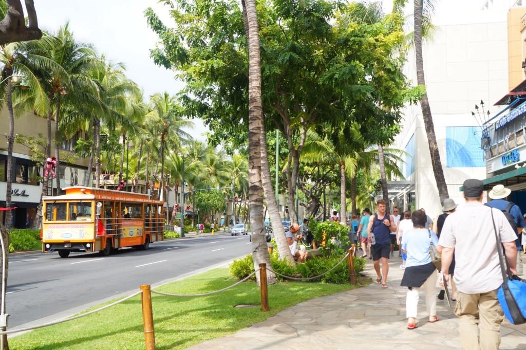 ハワイのストリート